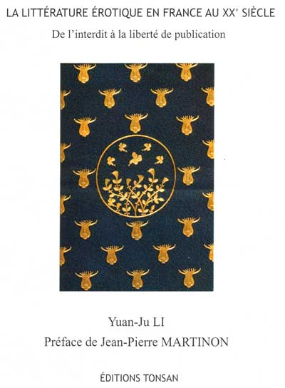 La litterature erotique en France Li yuan ju Tonsan